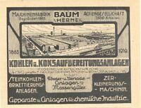 Schüchtermann & Kremer Baum AG für Aufbereitung Dortmund Aktie 1941 Herne Velsen