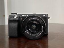 Sony Alpha NEX-6 16.1MP Digital Camera - Black (w/ 16-50mm Kit Lens)