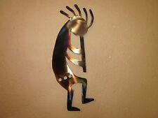 KOKOPELLI #1 WALL ART STEEL TORCH PAINTED CLEAR COAT FINISH
