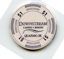1.00 Casino Chip from the Downstream Casino Quapaw Oklahoma