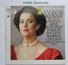 ETC 1029 - YVONNE KENNY - Recital At Wigmore Hall - Excellent Con LP Record
