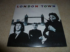 WINGS-London Town VINYL LP + POSTER  TOP COPY
