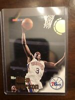 1996 96-97 NBA Hoops Allen Iverson #295, RC Rookie Philadelphia 76ers , HOF