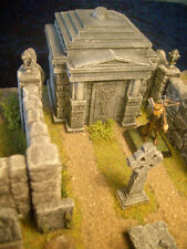 Crypt/Temple Unpainted Resin Thomarillion Terrain Dwarven Forge D&D
