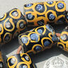 13 large old antique venetian  fancy 'eye' beads african trade #376