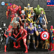 20Pcs Avengers 3 Infinity War Thanos SuperHero Kids Action Figures Toys Doll