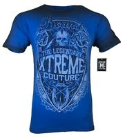 XTREME COUTURE by AFFLICTION Men T-Shirt SPIRIT WARRIOR Biker MMA GYM S-4X $40