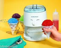Ice Shaver Machine Electric Crusher Cone Maker Shave Snow Icy Treat Seacoast Kid