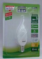 5x Chandelier Candle FLAME LED Bulbs E14 Small screw Fair Light Germany RoHS 3w