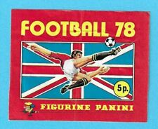 PANINI FOOTBALL 78 EMPTY PACKET