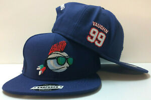 Major League Indians Rick Vaughn Wild Thing Movie Authentic Snapback Hat Cap