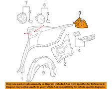 Chevrolet GM OEM-Taillight Tail Light Lamp Bracket Mount Pocket Right 20951723