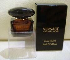 VERSACE Crystal Noir Eau De Toilette mini Perfume, 5ml, Brand New in Box