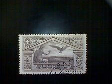 Stamps, Italy, Scott #C25, used(o), 1930 air mail, Virgil Set, Jupiter and Eagle