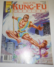 Kung-Fu Warriors Magazine Stone Monkey White Lotus March 1989 081914R