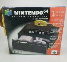 Official NINTENDO 64 N64 24 Game STORAGE CASE Drawer System Organizer with Box