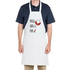 Novelty Joke Apron Prick with a fork bbq cooking gift