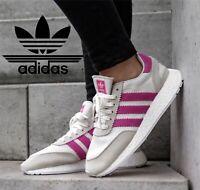 adidas Originals I-5923 Women Iniki Boost Shoes D96618 Off White/Pink Sz 11 M