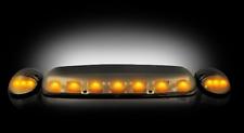Recon 264155BK Smoked Lens LED Cab Roof Light Kit for 02-07 Silverado/Sierra