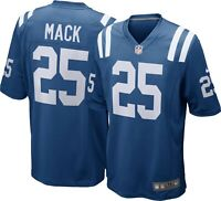 Brand New 2020 NFL Nike Indianapolis Colts Marlon Mack #25 Game Edition Jersey