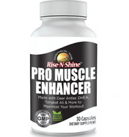 MUSCLE BUILDING ENHANCER - Strength, Growth, Gain, Workout Performance & Energy