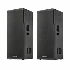 "2x CERWIN VEGA CVXL-215 DUAL 15"" 1500W POWERED SPEAKERS - DJ LIVE BAND SOUND"