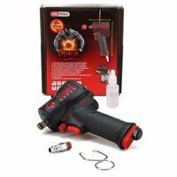 """KS Tools 515.1270 miniMONSTER Clé à Chocs Pneumatique Serrage 1/2"""" 1390 Nm"""