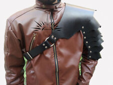 MEDIEVAL  ARMOR COSTUMES DRESS GENUNINE SHOULDER LEATHER SCA/LARP