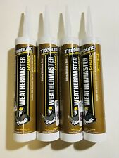 Titebond WeatherMaster Sealant White 9.5 fl. oz - Lot of 4