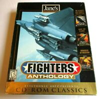 Jane's Fighters Anthology PC Windows 95 & 98  Very Good Condition Vintage Game