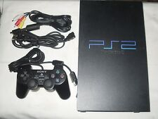 Sony PlayStation 2 Black Console (NTSC) Bundle.....Complete for Playing & Tested