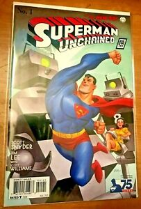 Superman Unchained #1 Variant 1:100 Bruce Timm 1930's Cover!