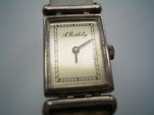 Wunderschöne klasssische Echtsilber Damenarmbanduhr von Alexis Barthelay