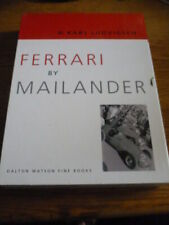 FERRARI BY MAILANDER MOTOR RACING BOOK