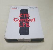 Verizon ZTE Cymbal LTE Z233V - 4GB - Silver (Verizon Prepaid) Old Stock NEW