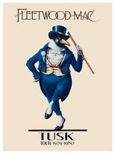 Fleetwood Mac * POSTER * Tusk LIVE CONCERT Tour Print Stevie Nicks Buckingham