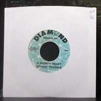 """Johnny Thunder - My Prayer / A Broken Heart 7"""" VG+ Vinyl 45 Diamond D-196 USA"""