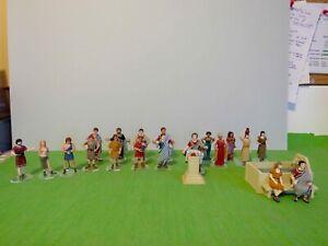 Job Lot of Roman Civilians [1/32 54mm]