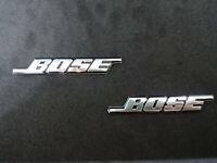 2 x stemma badge logo adesivo metallo bose altoparlanti stereo