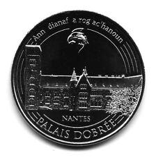 44 NANTES Palais Dobrée, Couleur argent, 2016, Monnaie de Paris