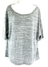 Sparkle and Fade sz M ripped back t shirt distressed blouse