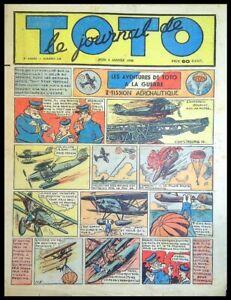 le journal de TOTO - 3e Année -  1940 -  N°148