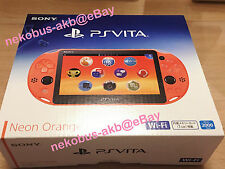 [Brand New] PS Vita Wi-Fi Console [Neon Orange] [PCH-2000 ZA24] [Japan] PSV