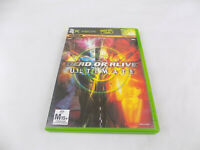 Mint Disc Xbox Original Dead or Alive Ultimate PAL Free Post Works on Xbox 360