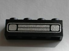 LEGO VINTAGE black car grille 3010p20c / set 352 368 1062 1601 605...