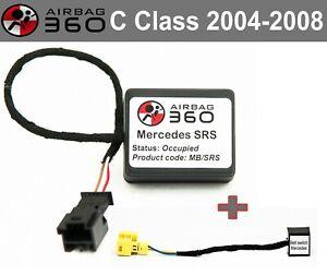 Mercedes SRS C Class 04-08  Passenger Seat Mat Occupancy sensor emulator bypass