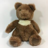 Gund Collectors Classics Plush Vintage 1990 Teddy Bear Brown Stuffed Animal 12""