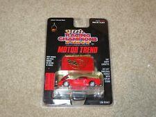 Racing Champions Motor Trend Magazine 1997 Chevy Corvette Red 1:56 Moc 1997