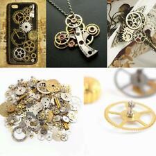 50g Watch Parts Steampunk Jewellery Art Craft Cyberpunk Cogs Gears Charms DIY