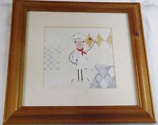 Mr Benn come cartone animato Chef ACQUA colore foto Pine FRAME impressione sotto vetro